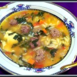 ITALIAN WEDDING SOUP!!!