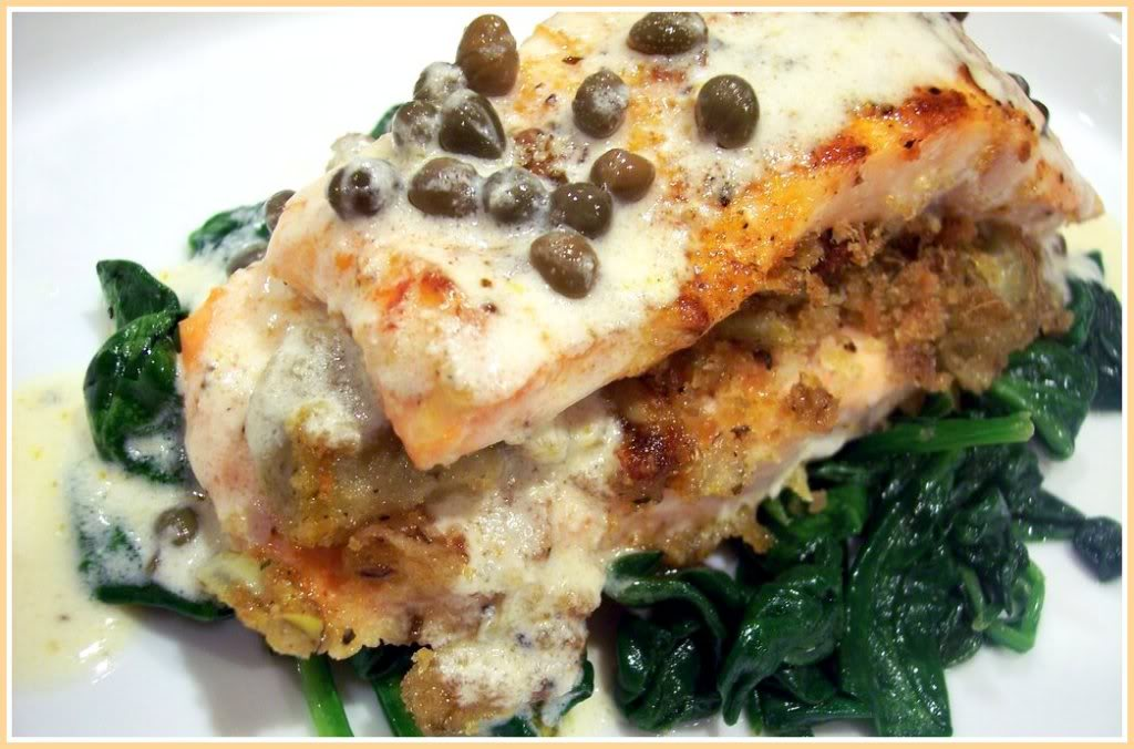 Salmon with capers recipes