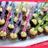 CHEESECAKE POPS! ( Daring Bakers)