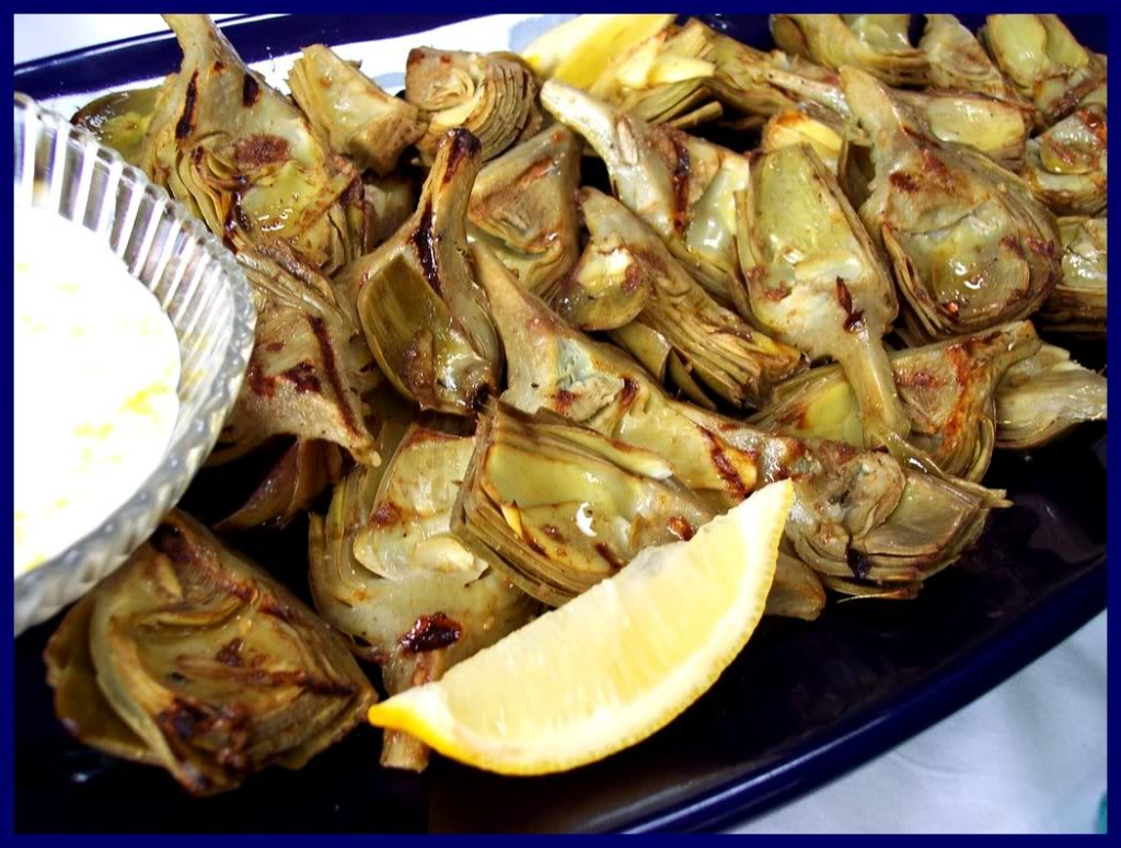 GRILLED ARTICHOKES WITH LEMON AIOLI! - Proud Italian Cook