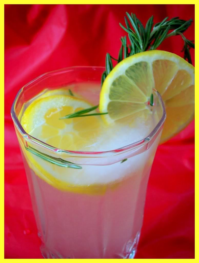 ROSEMARY LEMONADE (SPIKED!!) - Proud Italian Cook