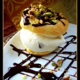 Cannoli Filled Cream Puffs!! August Daring Bakers Challenge