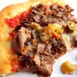 Chicago Style, Italian Beef Pizza!!