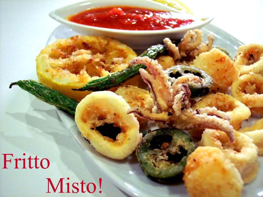 Fritto Misto of Calamari, Lemon and Scallops! - Proud Italian Cook