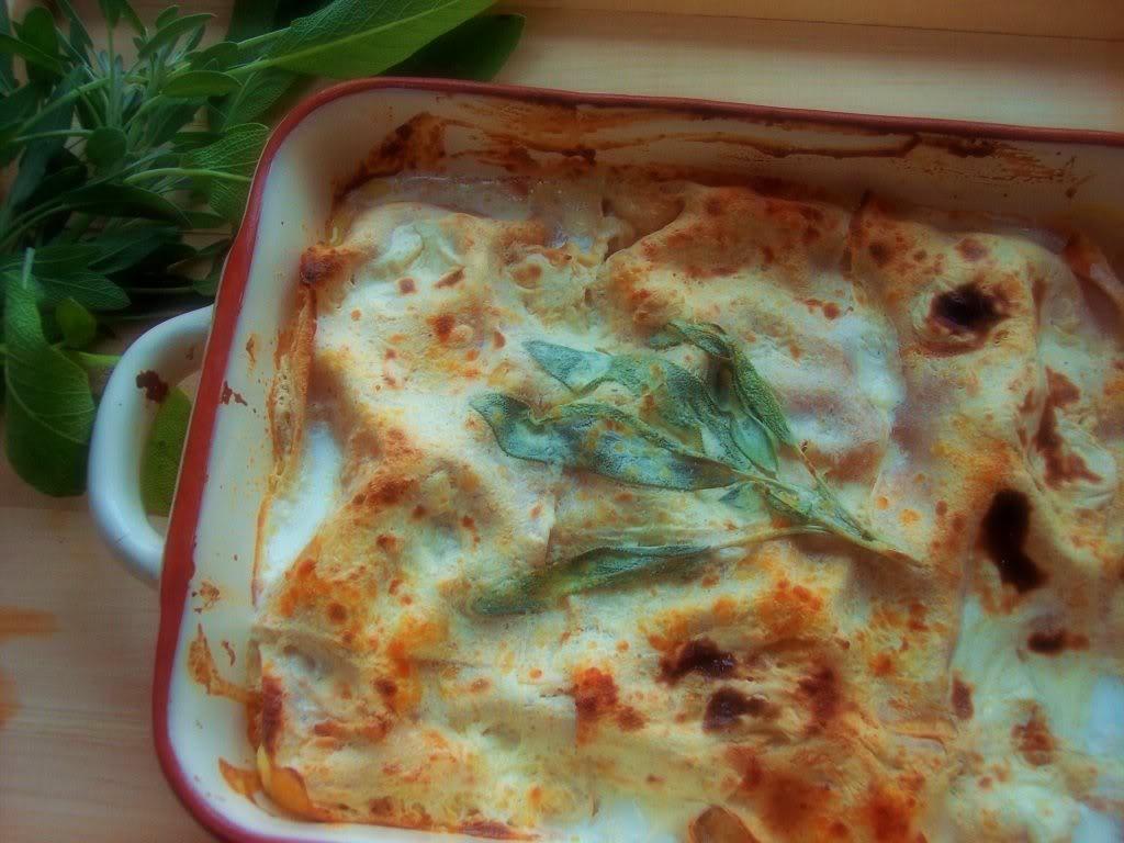 Butternut Squash Lasagna, Revisited - Proud Italian Cook