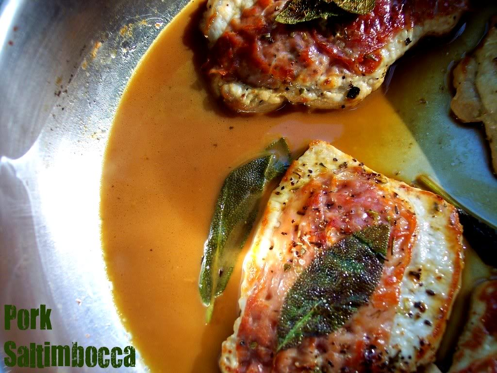 Recipes for pork saltimbocca