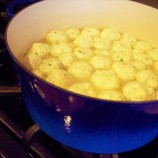 Ricotta Dumplings in Broth