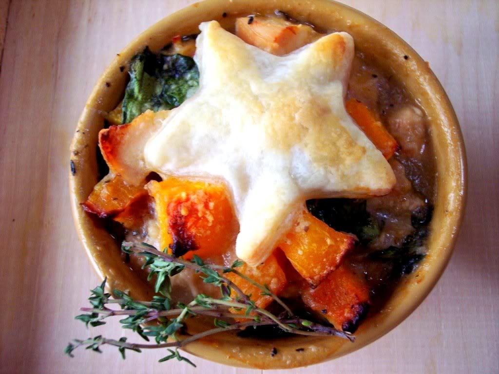 """Individual """" Lighter"""" Chicken Pot Pies - Proud Italian Cook"""