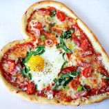 Mini Cracked Egg Pizza