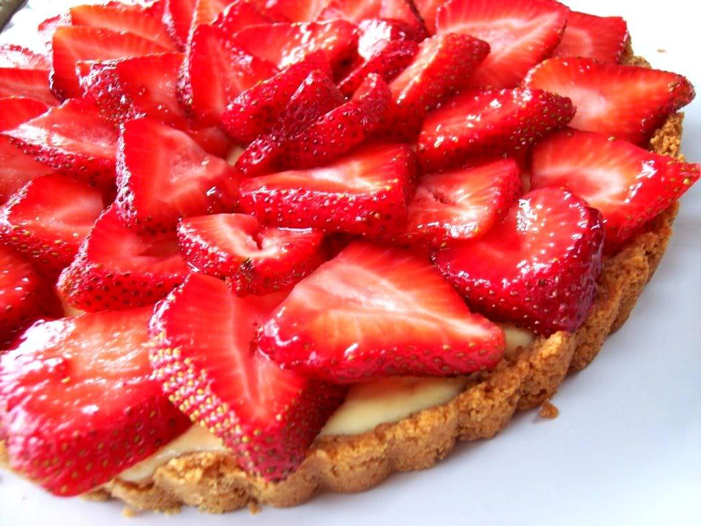 Strawberry And Ricotta Tart Recipes — Dishmaps