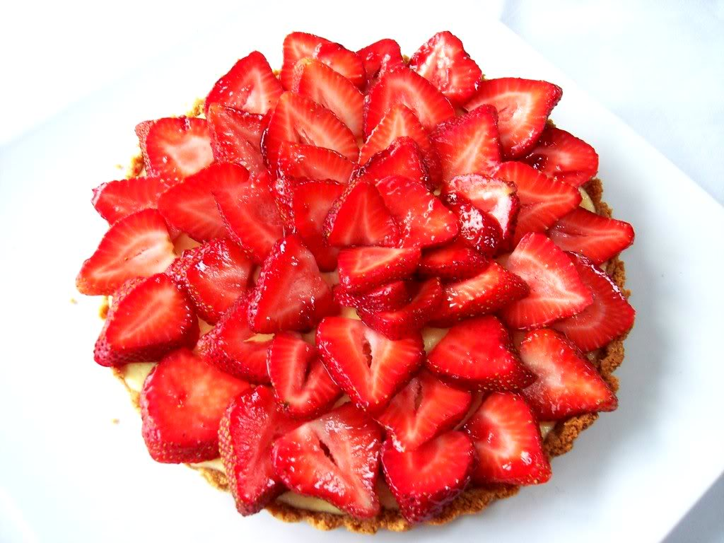 Fresh Strawberry and Ricotta Tart - Proud Italian Cook