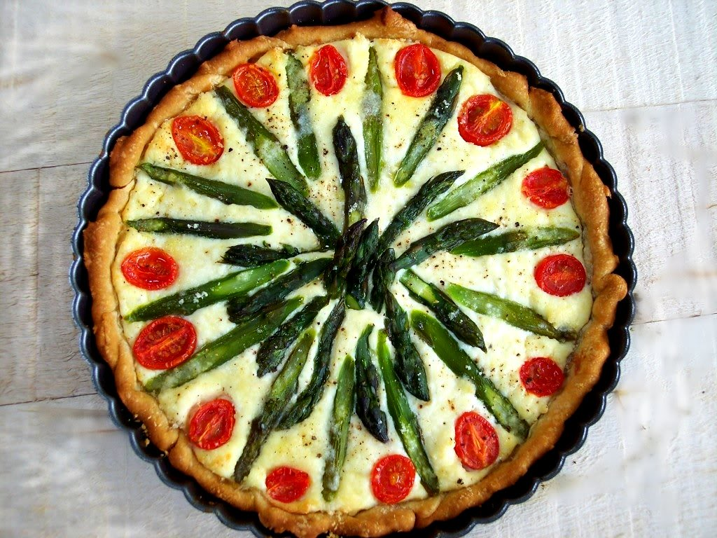 Watch Asparagus and Ricotta Tart video