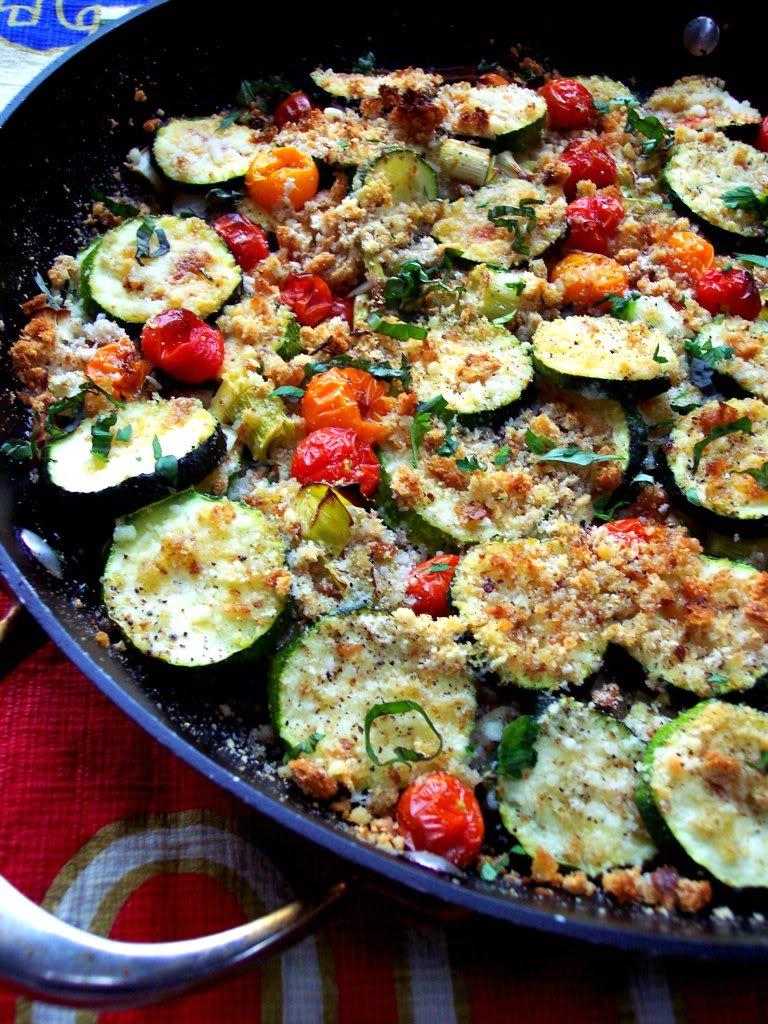 Zucchini Tomato Gratin - Proud Italian Cook