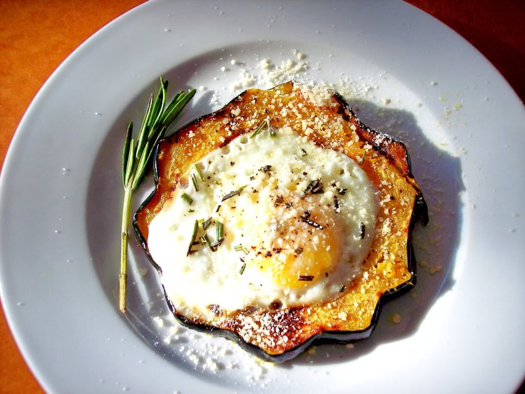 Vegetable Egg in a Hole - Proud Italian Cook