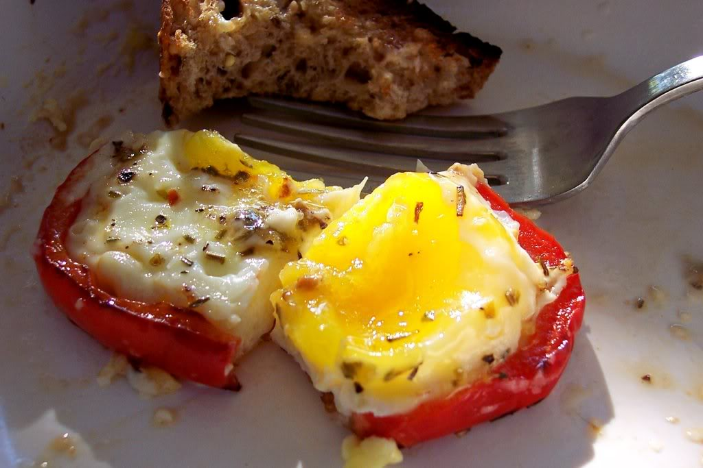 ... pepper s and black pepper sauce red pepper egg in a hole recipe yummly