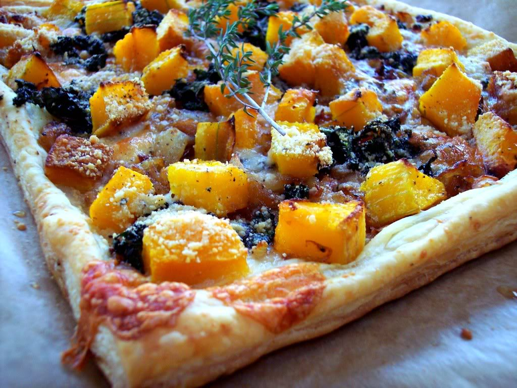recipe: butternut squash goats cheese puff pastry [23]