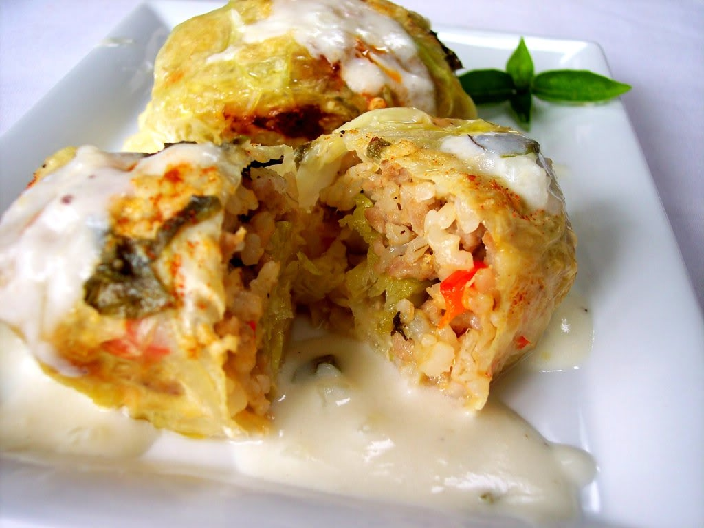 Italian Stuffed Cabbage Roll Recipe | Tickles my Tastebuds | Pinterest