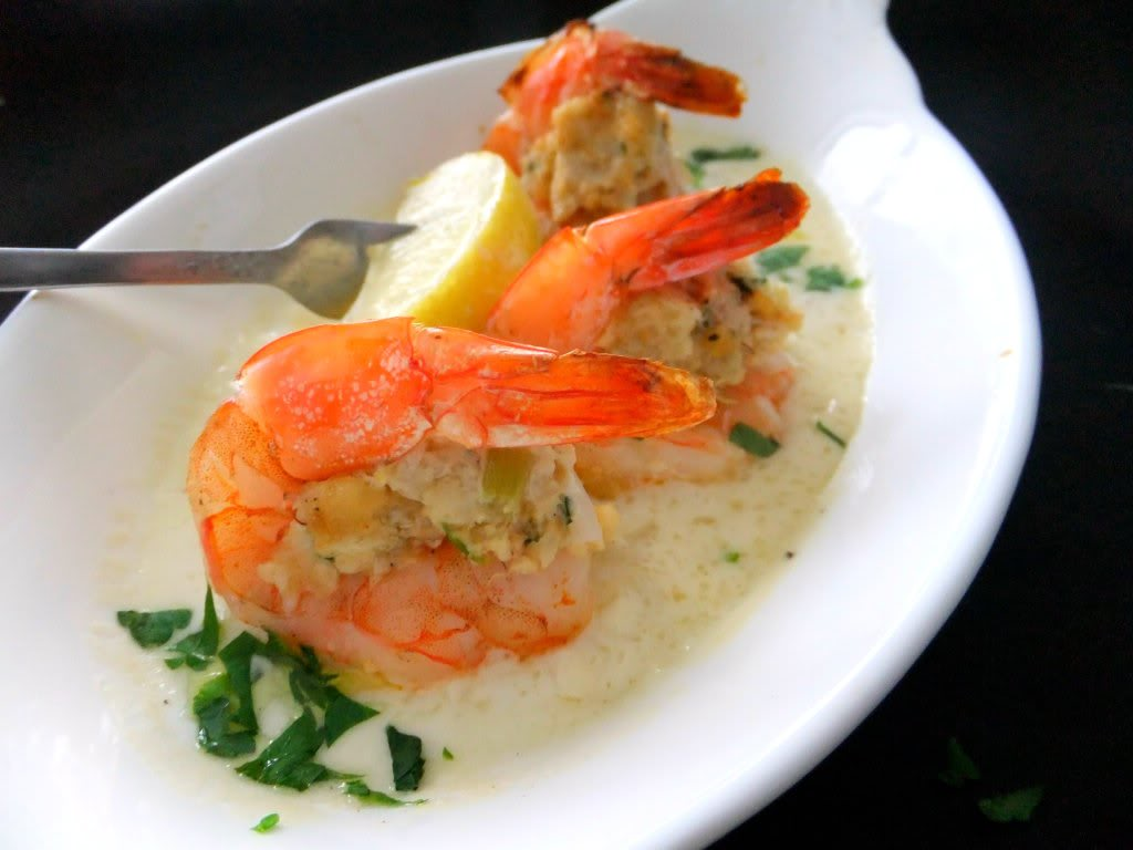 Crab stuffed shrimp proud italian cook for Stuffed fish with crab meat