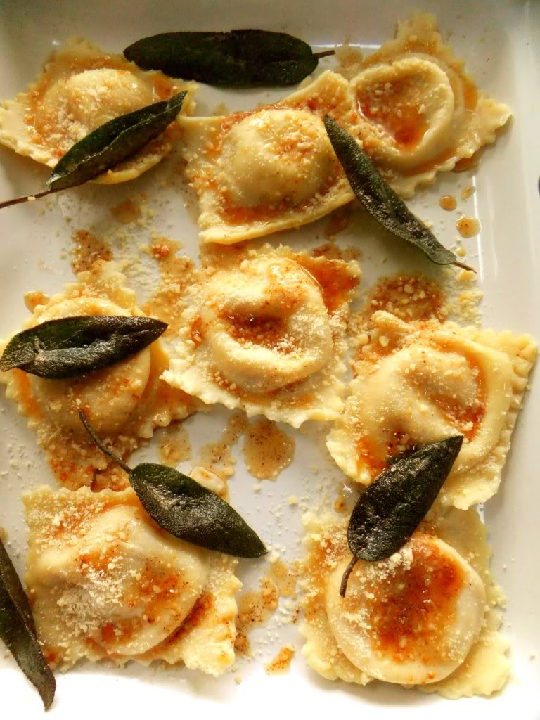 squash ravioli image giant butternut squash ravioli strain the ravioli ...