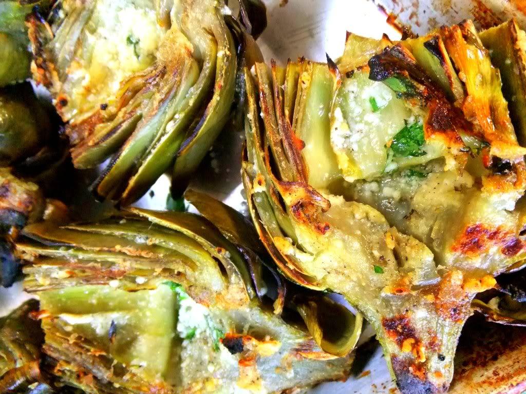 Grilled Artichoke Food Network