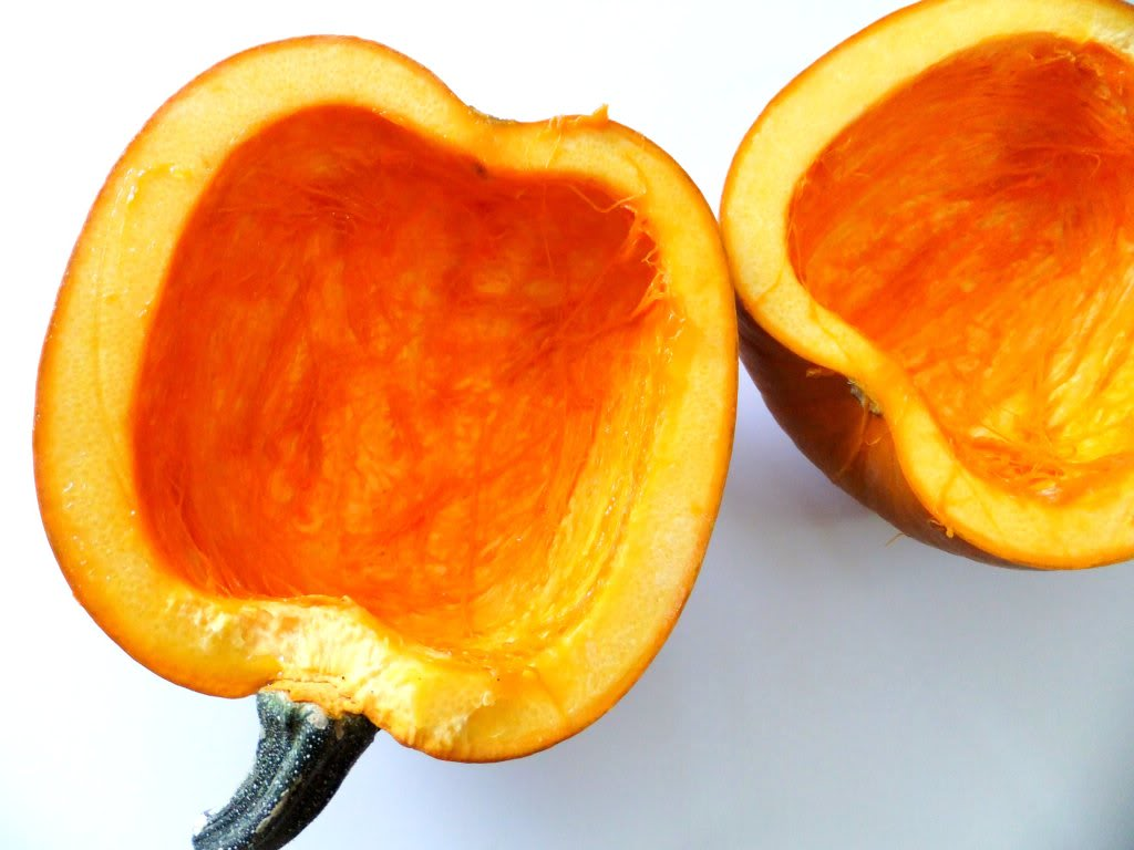 had the perfect size pumpkin just waiting for this recipe, it ...
