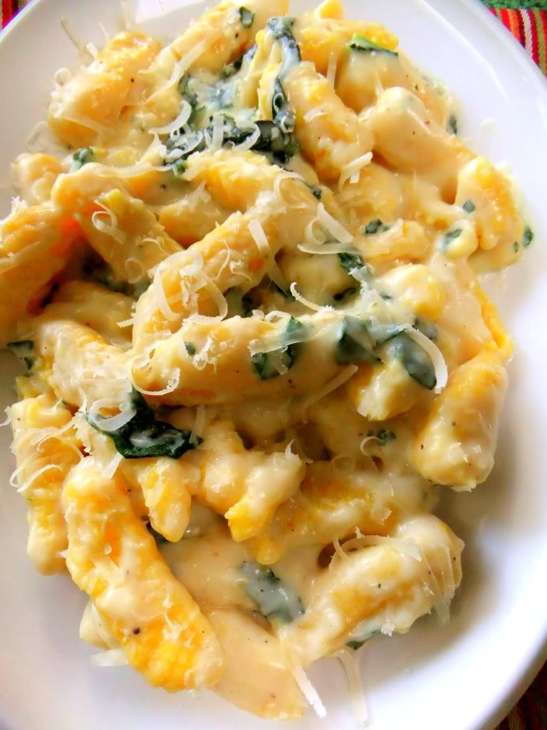Another sauce that goes well with the butternut squash gnocchi is a ...