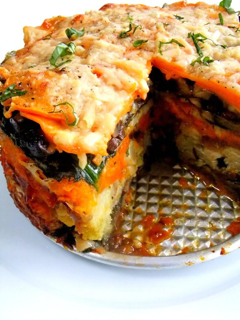 Winter Vegetable Torte Free Recipe Below