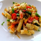 Roasted Veggie Pasta for a Crowd