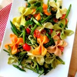 Farfalle Pasta Salad to Welcome in Spring
