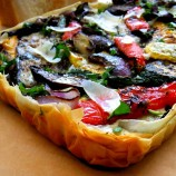 Grilled Vegetable Tart with Phyllo
