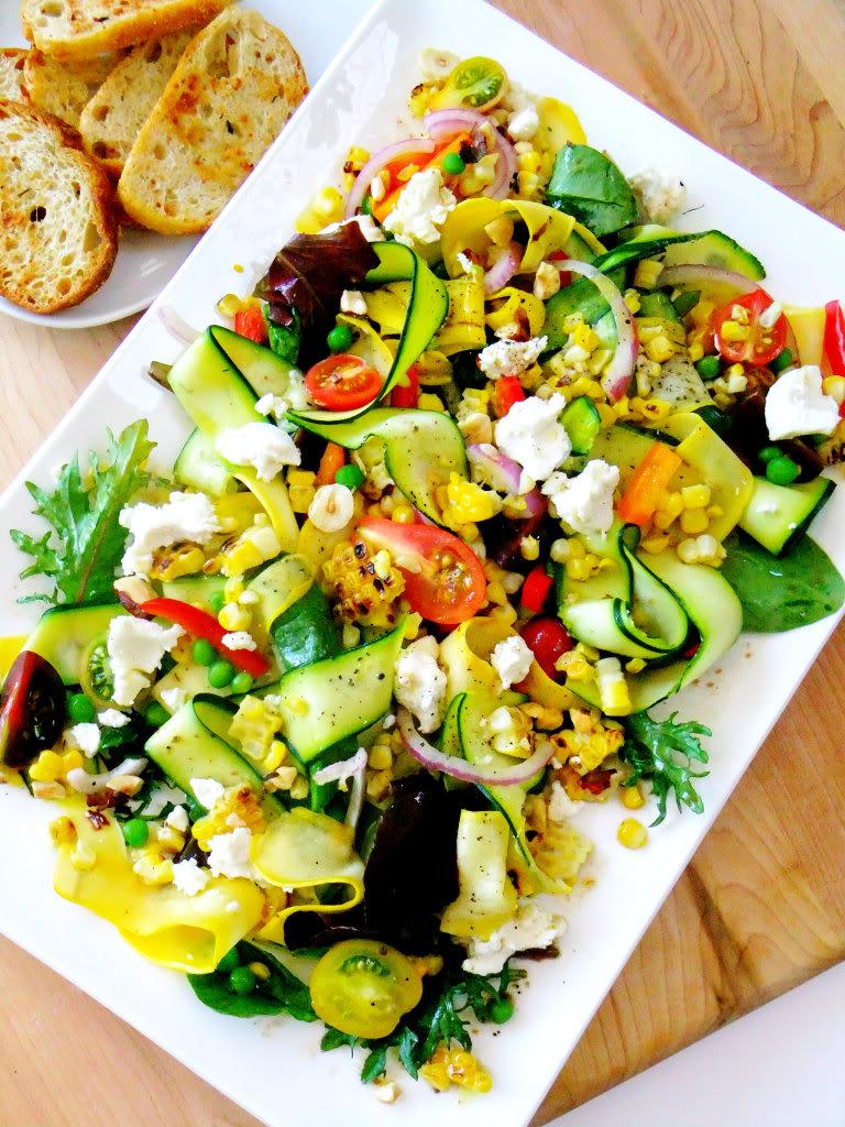 Summer Vegetable Ribbons Recipes — Dishmaps