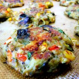 Eggplant Patties and Hot Weather Desserts