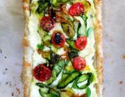 Summer Bounty Zucchini Tart