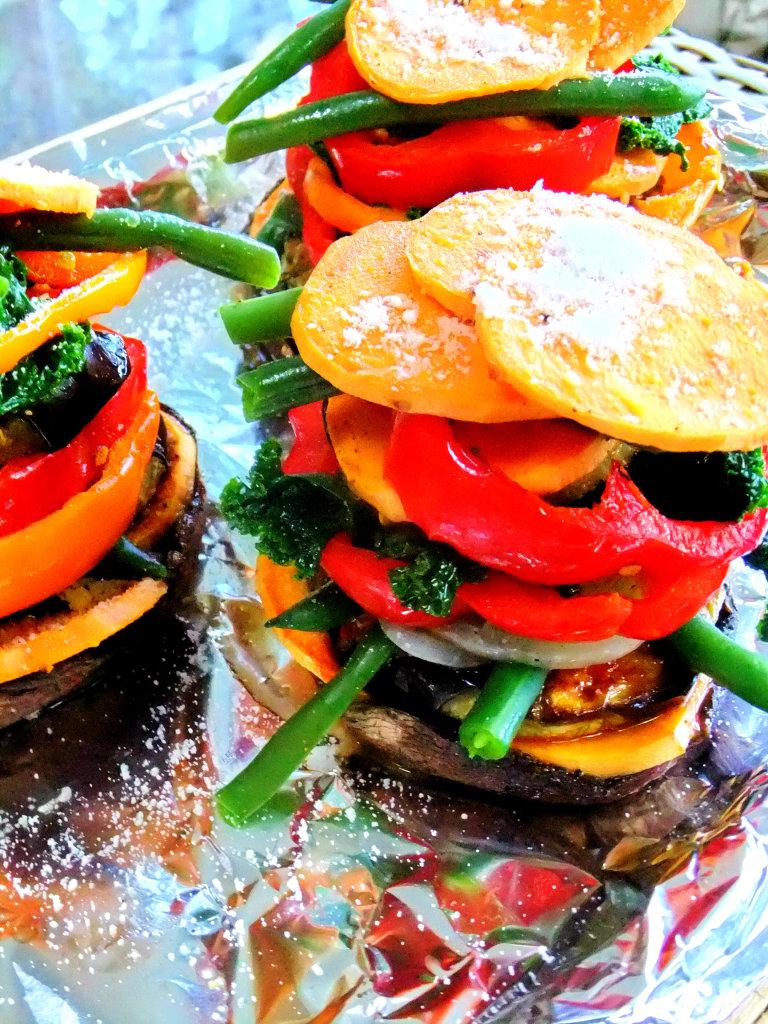 Veggie Napoleon Proud Italian Cook