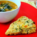 Savory Kale and Pumpkin Scones