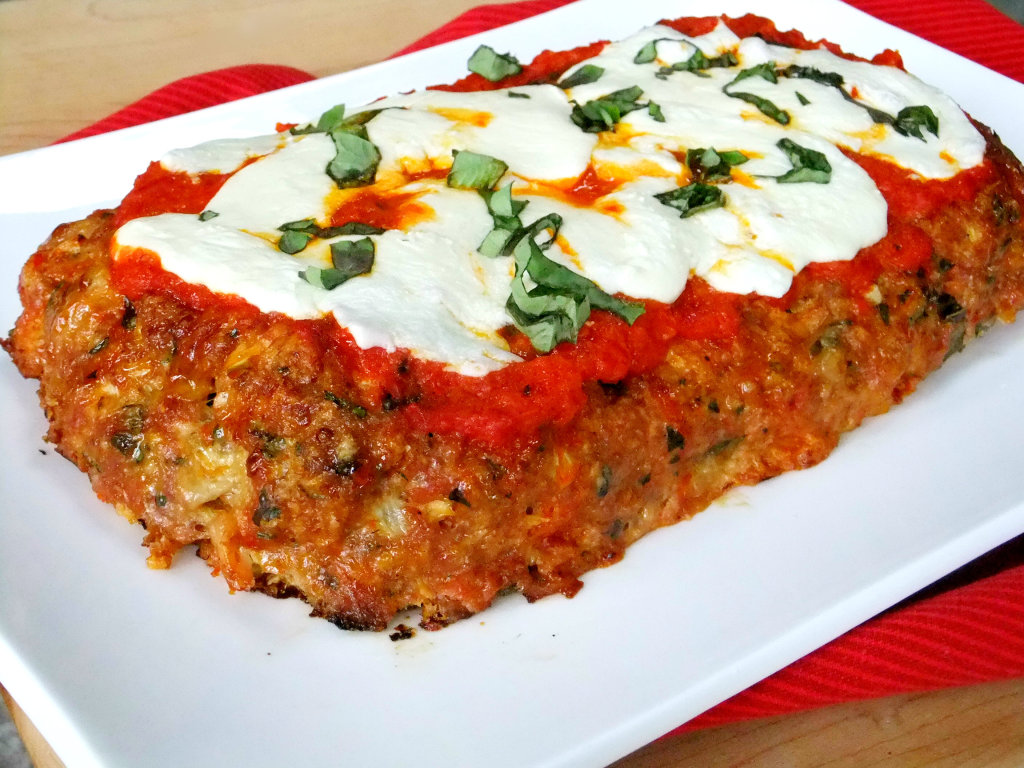 Chicken parmesan meatloaf proud italian cook chicken parmesan meatloaf forumfinder Choice Image