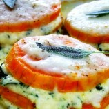 Individual Butternut Squash Lasagna with Infused Bechamel