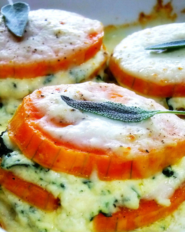 Individual Butternut Squash Lasagna with Infused Bechamel - Proud ...