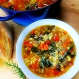 A Virtual Pot of Pasta Fagioli Soup for my Friends