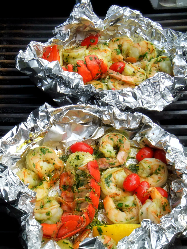 Grilled Shrimp And Lobster Gremolata Proud Italian Cook