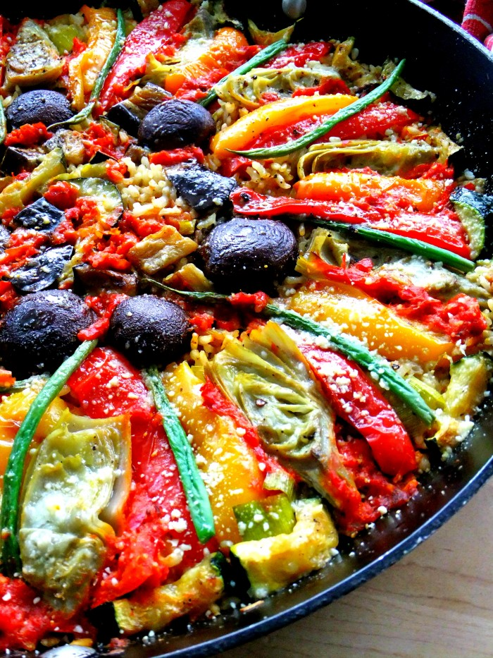 Vegetable paella italian style proud italian cook i have a 14 paella pan that i got from hsn many years ago it was a todd english pan i think he makes a different one now but you can still forumfinder Images