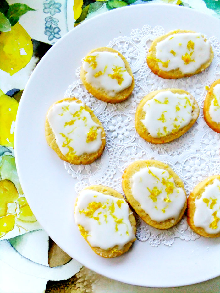 Limoncello Cookies Made From Homemade Limoncello - Proud Italian Cook