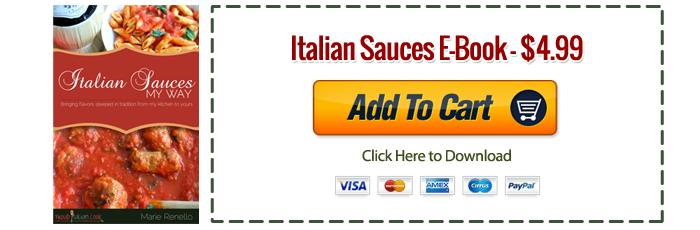 Buy Now Italian Sauces My Way