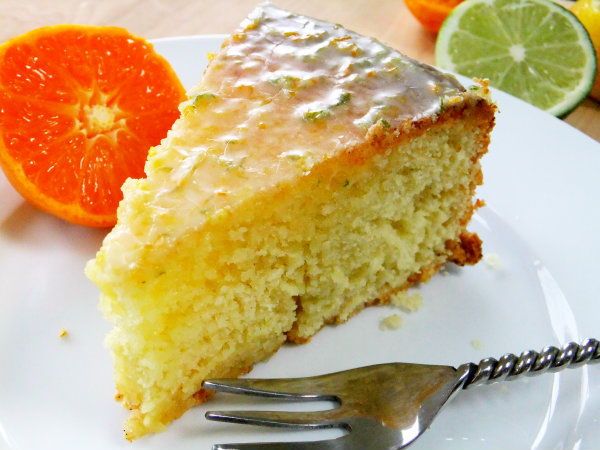 Olive Oil and Chardonnay Pound Cake with Citrus Vanilla ...