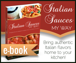 Italian Sauces My Way E-Book