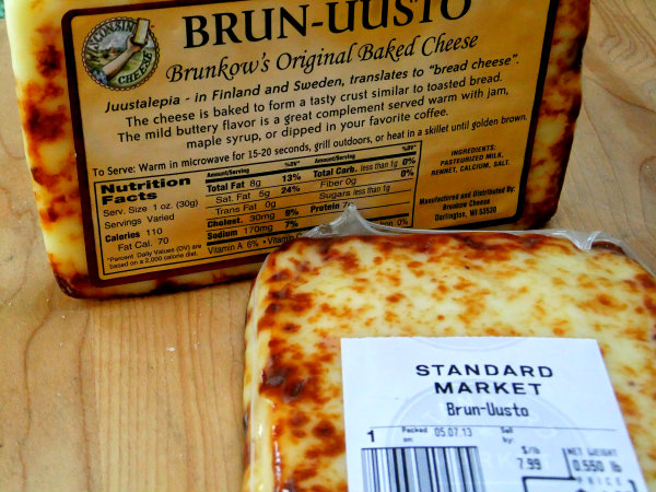Brun-uusto cheese