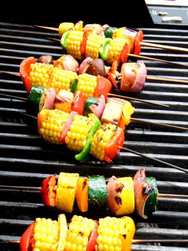 Grilled vegetable skewers proud italian cook - Make perfect grilled vegetables ...