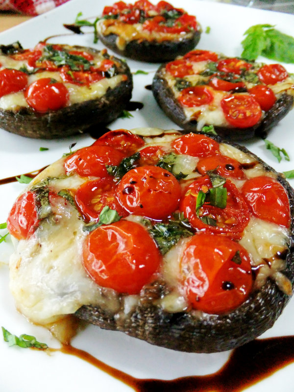 Caprese Style Portobellos Proud Italian Cook