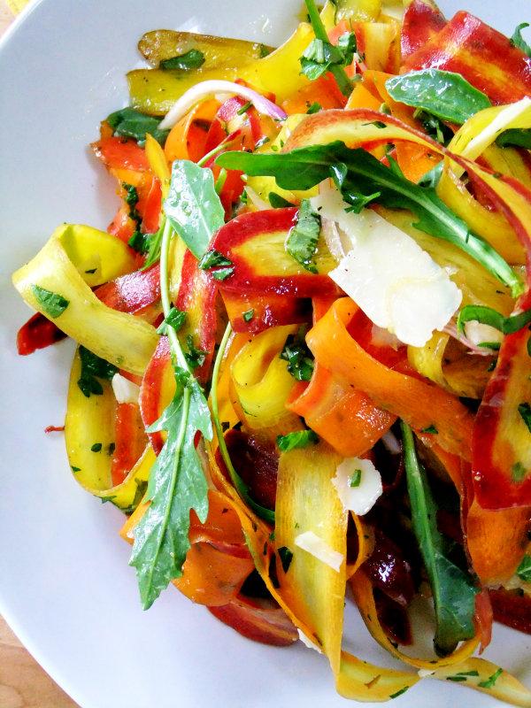 rainbow carrot salad