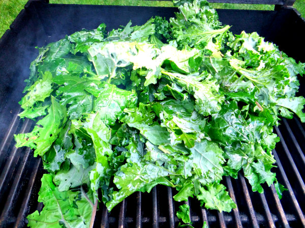 grilling kale